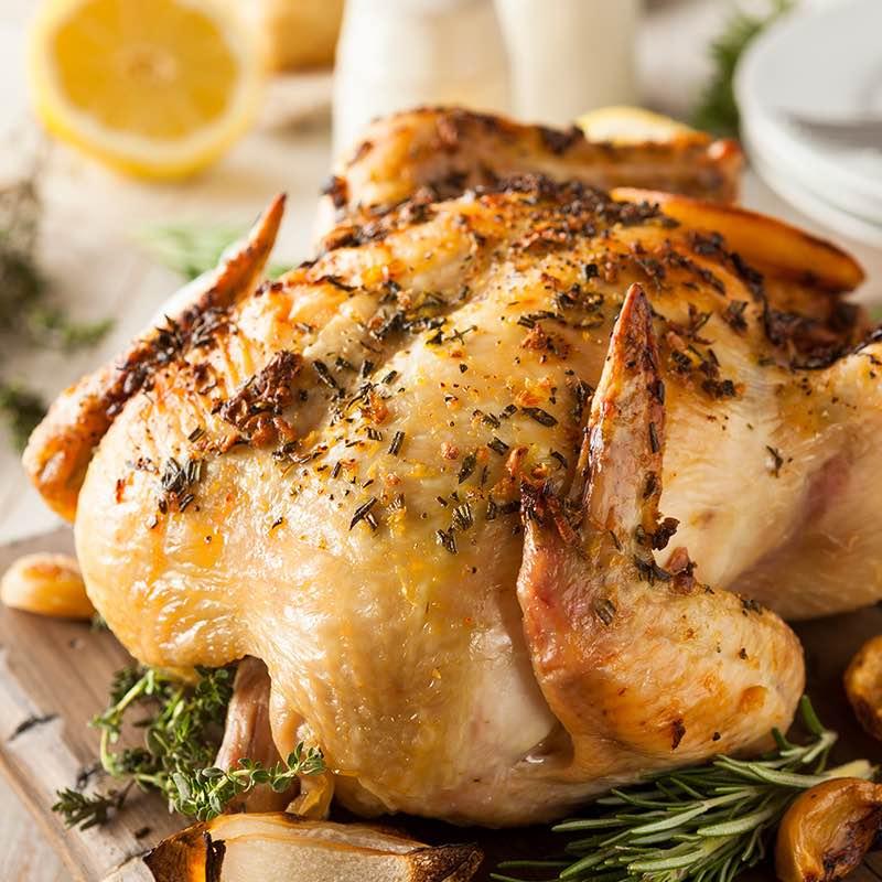 marinated-chicken en grávida