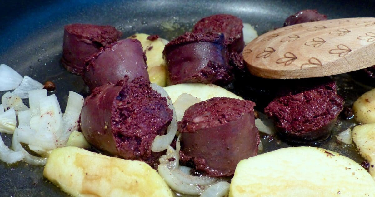 blood-sausage-or-blood-pudding pregnant
