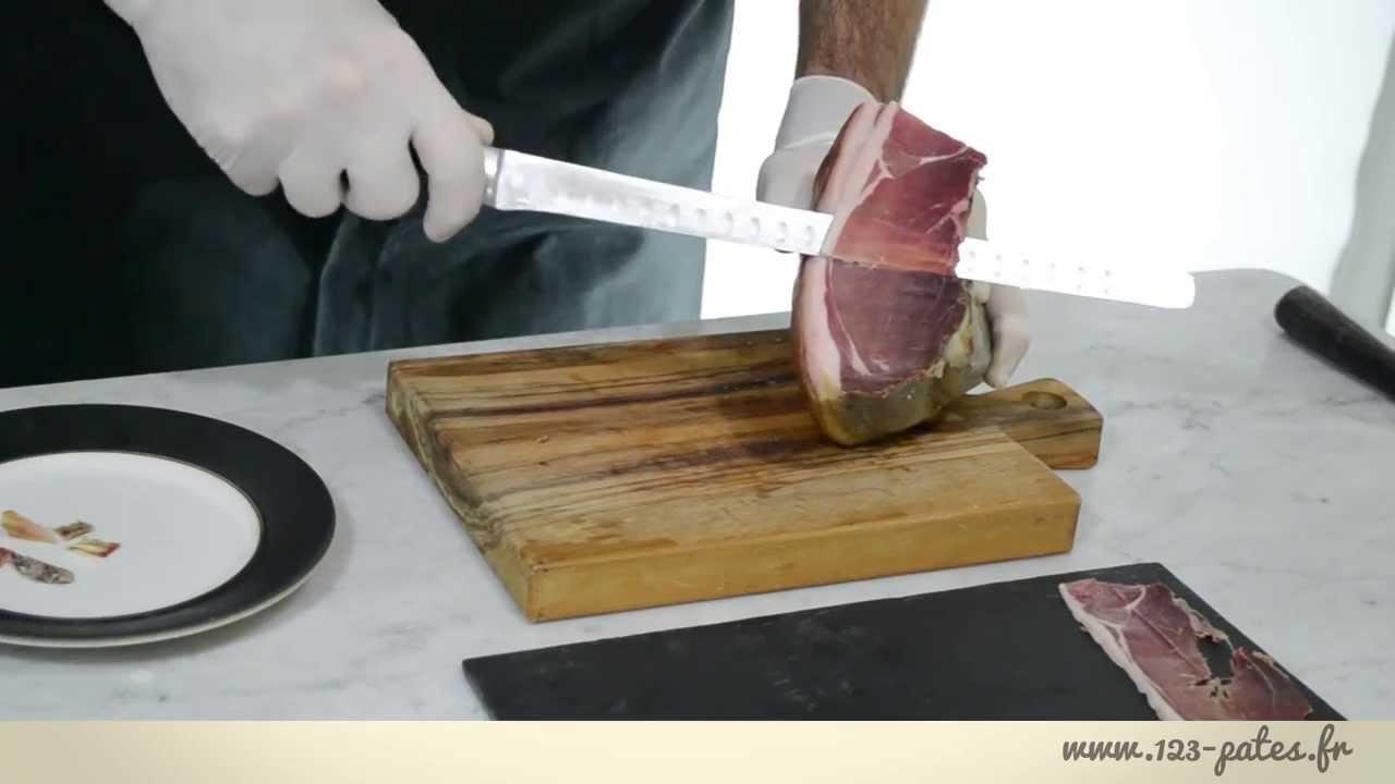 jambon-coupe enceinte
