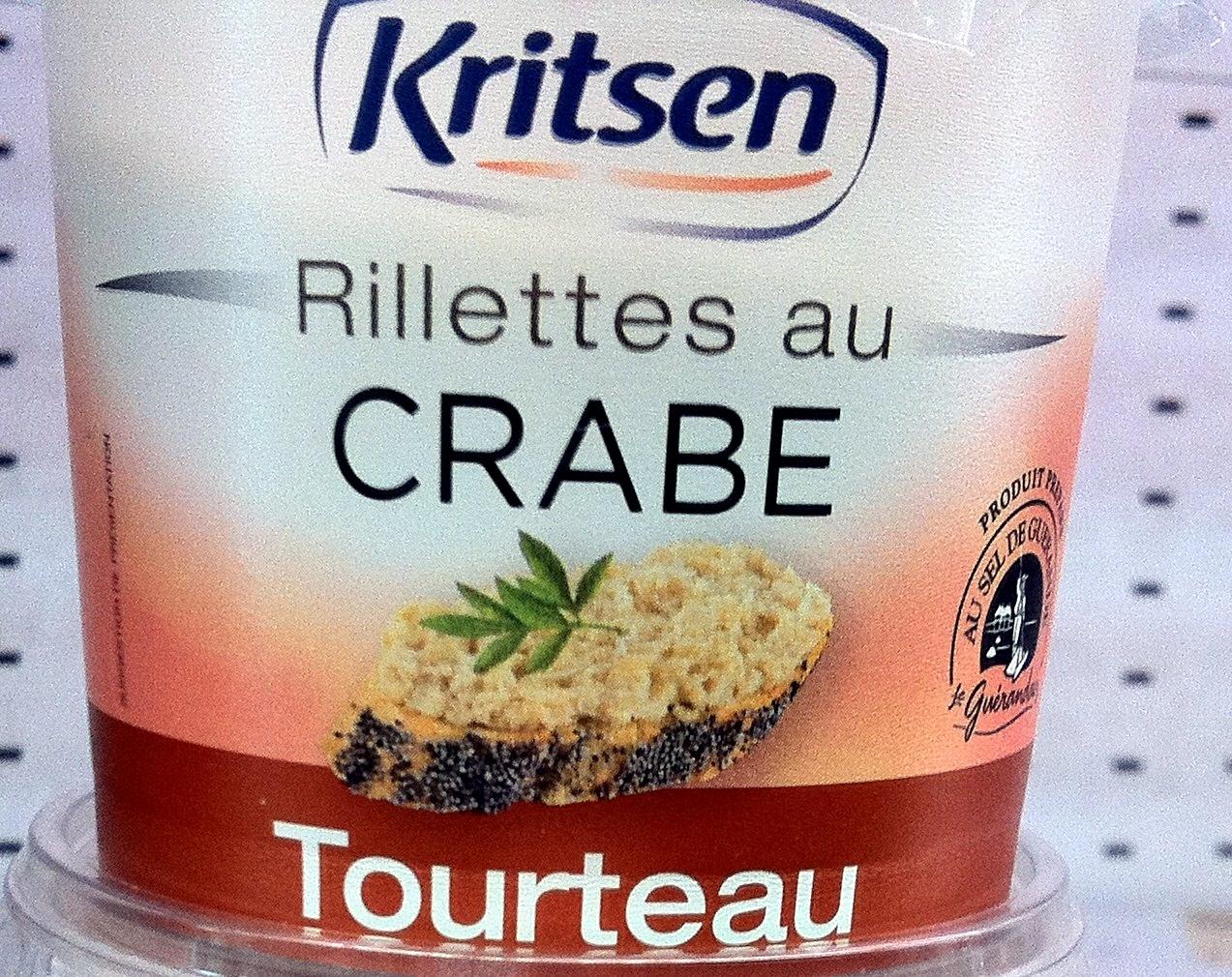 rillettes-de-crabe enceinte
