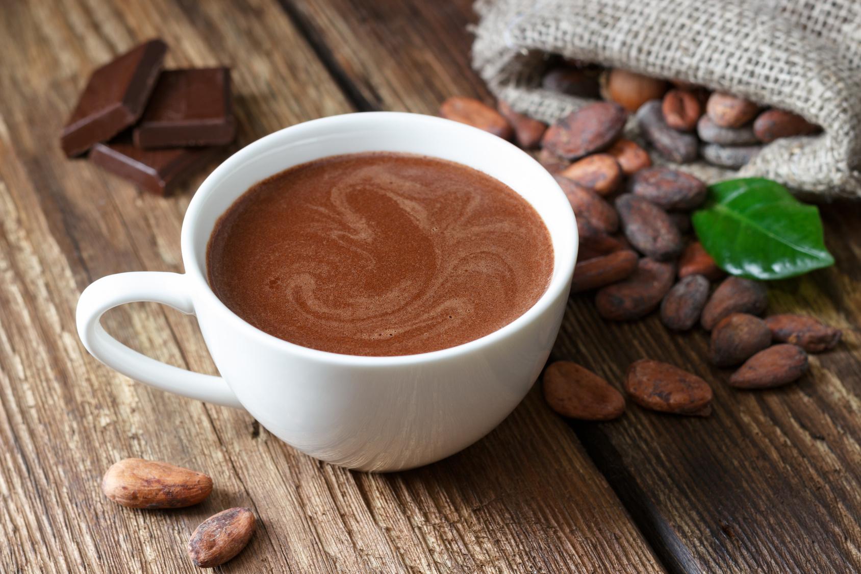 chocolat-chaud enceinte