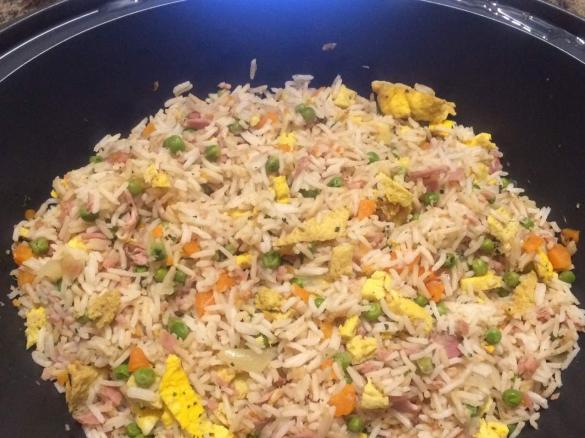 riz-cantonais enceinte