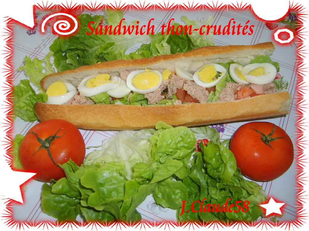 sandwich-thon enceinte