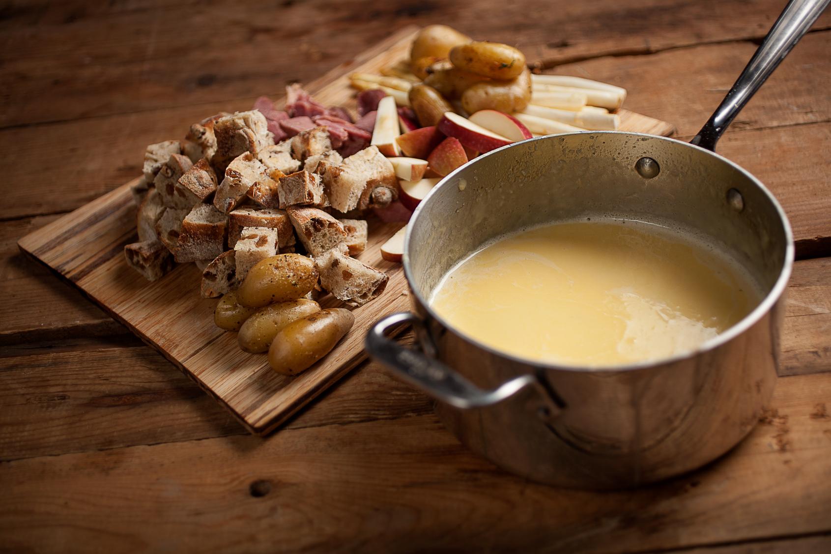 fondue-au-fromage enceinte