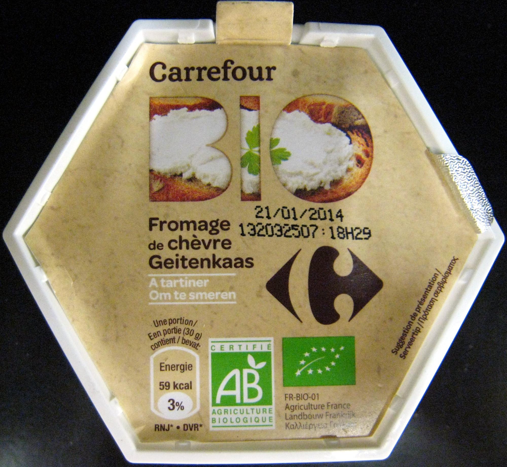 fromage-de-chevre-a-tartiner enceinte