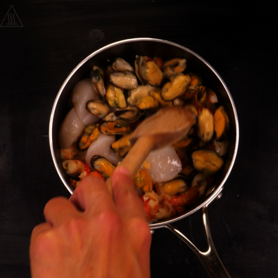 crevettes enceinte