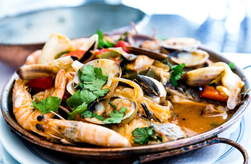 seafood en grávida