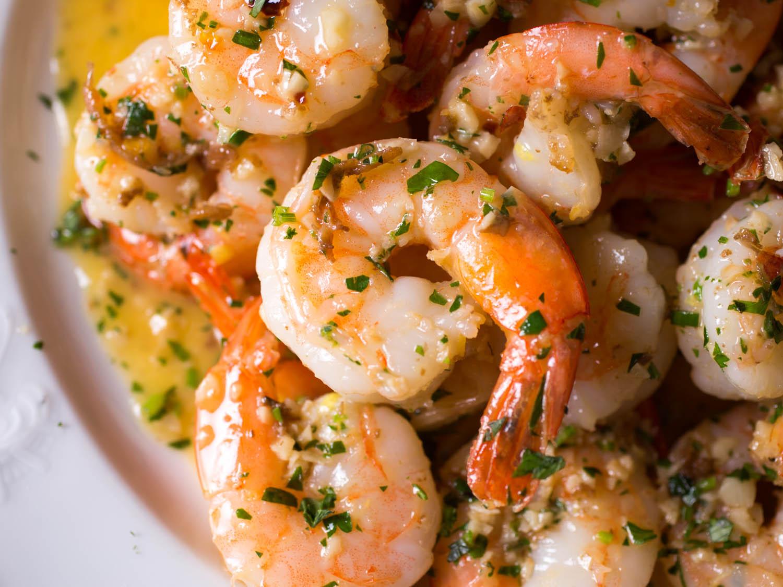 shrimps en grávida