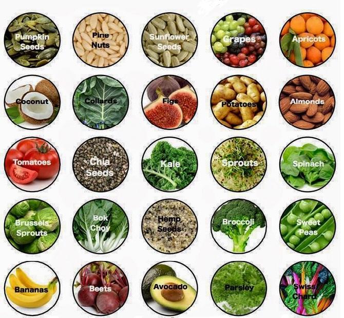 legumes-riche-en-fer enceinte