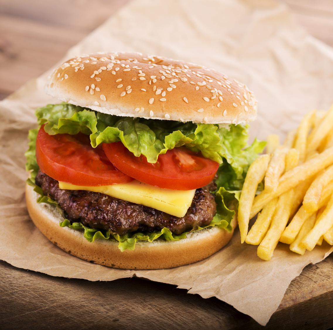 burger enceinte