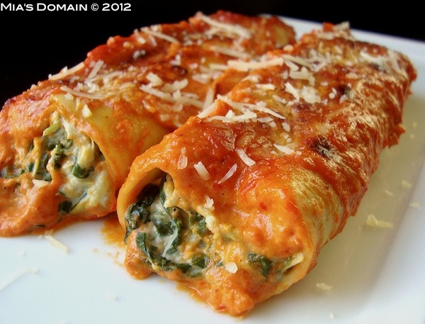 lasagna-or-cheese-and-spinach-cannelloni pregnant