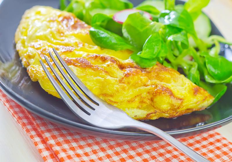 omelette enceinte