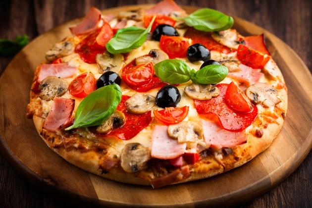 pizza enceinte