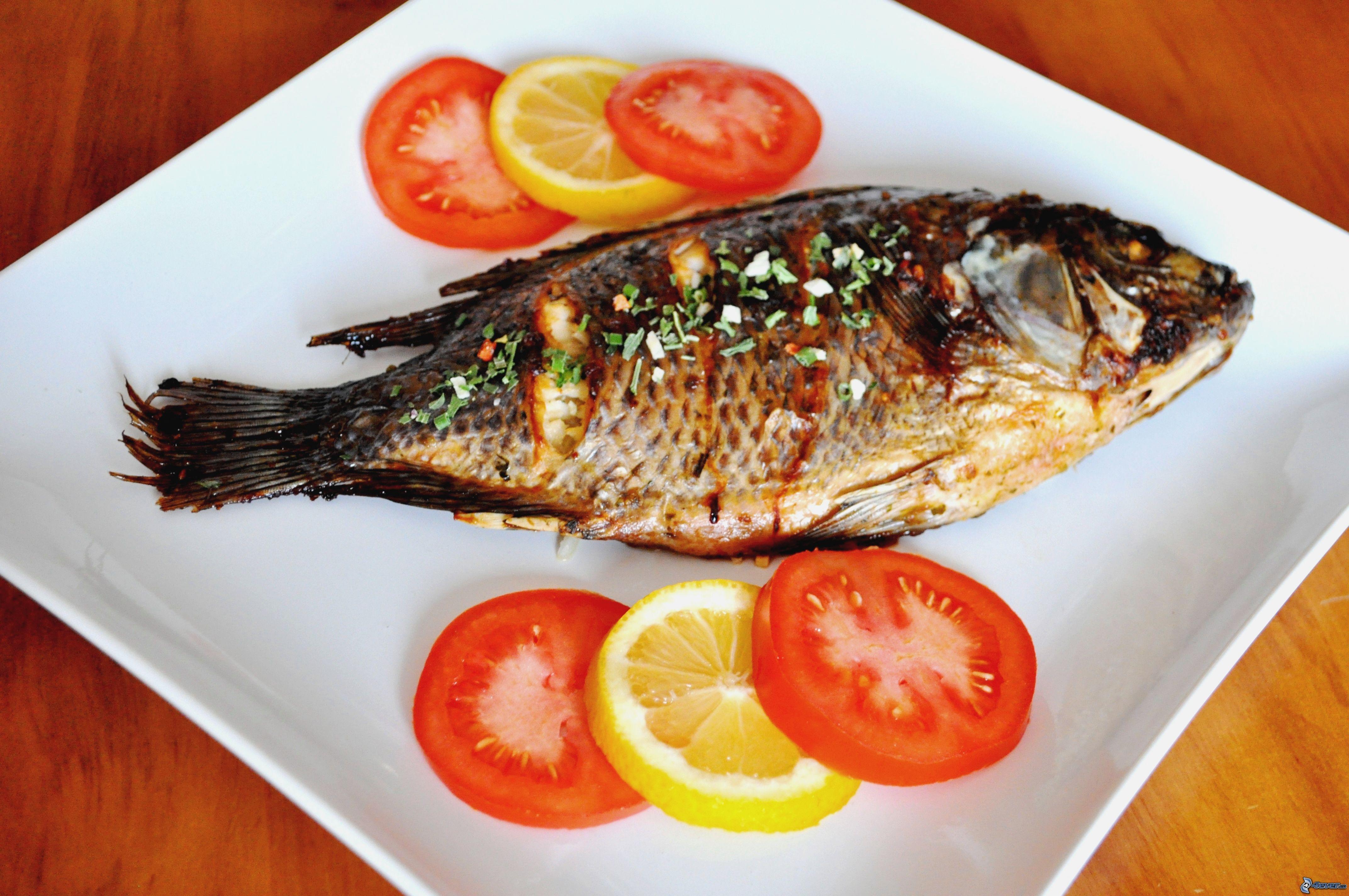 poisson-cuit enceinte