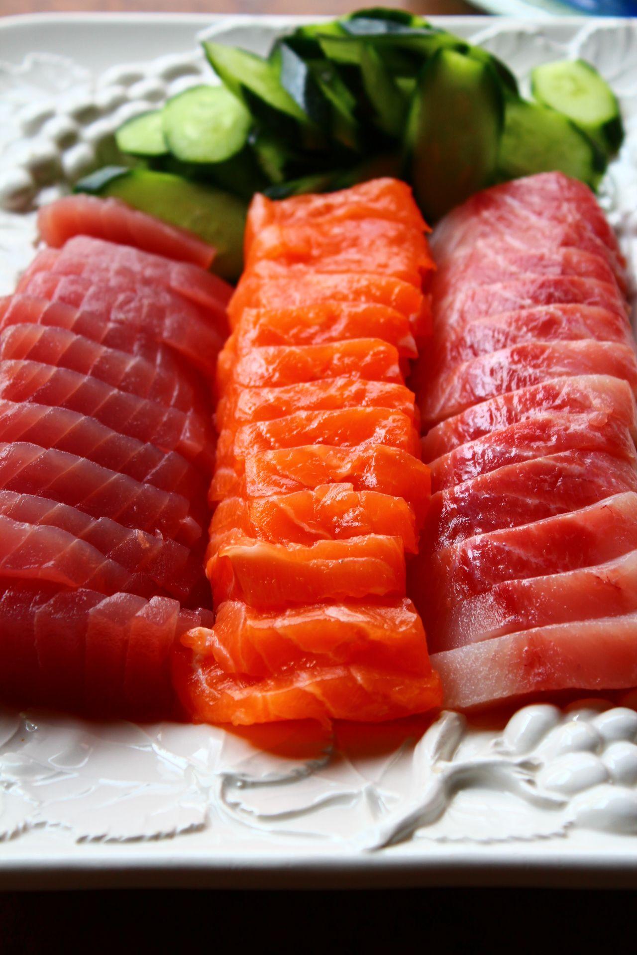 sashimi enceinte