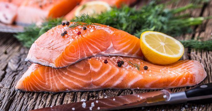 saumon-cuit enceinte