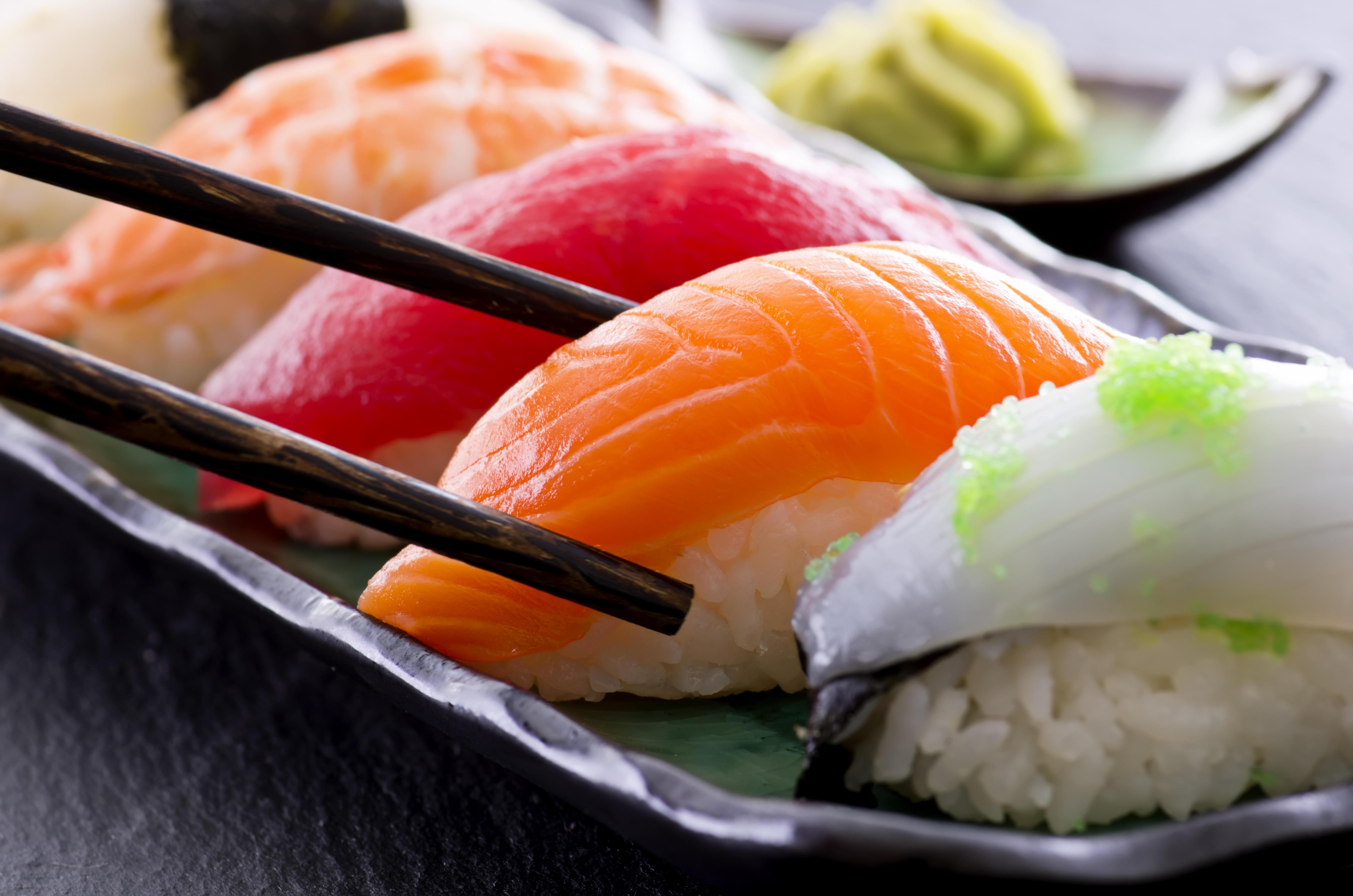 sushi enceinte
