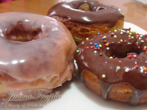 donut-de-chocolate embarazada