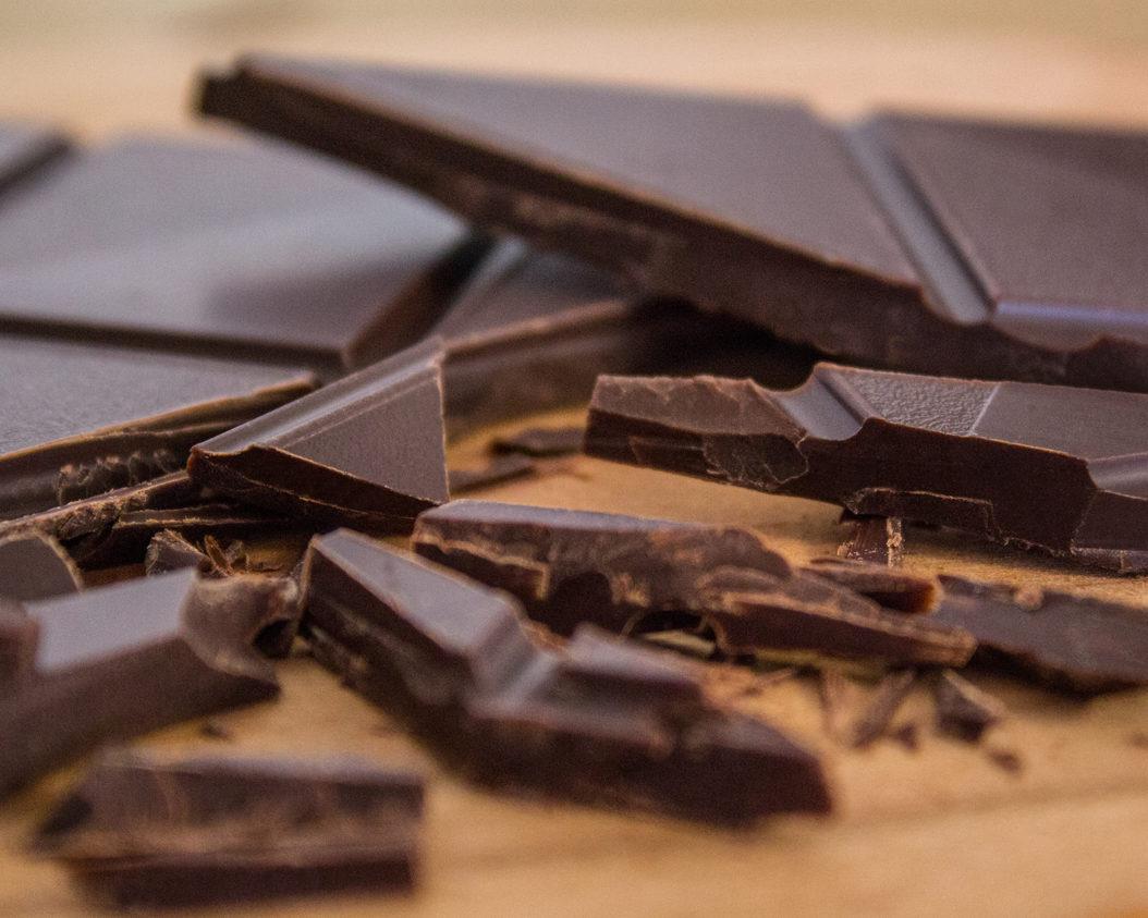 dunkle-schokolade schwanger