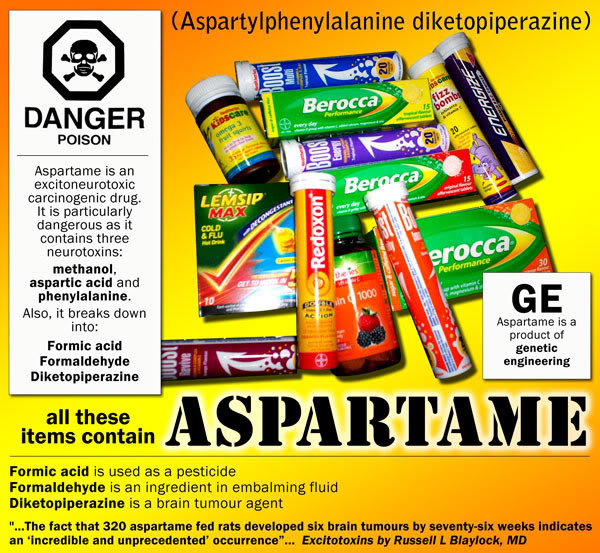 aspartame incinta