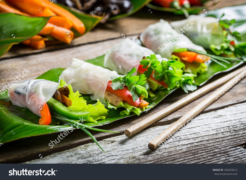 chiken-spring-rolls incinta