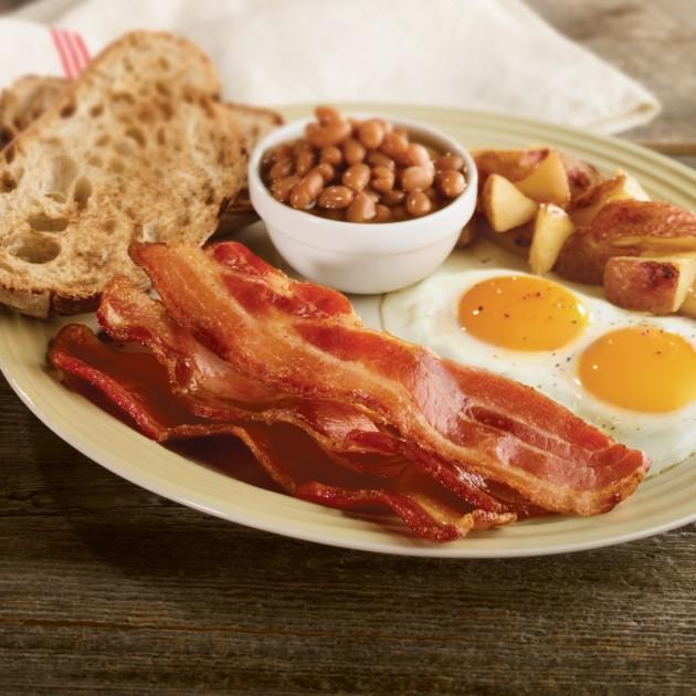 bacon-cuit enceinte