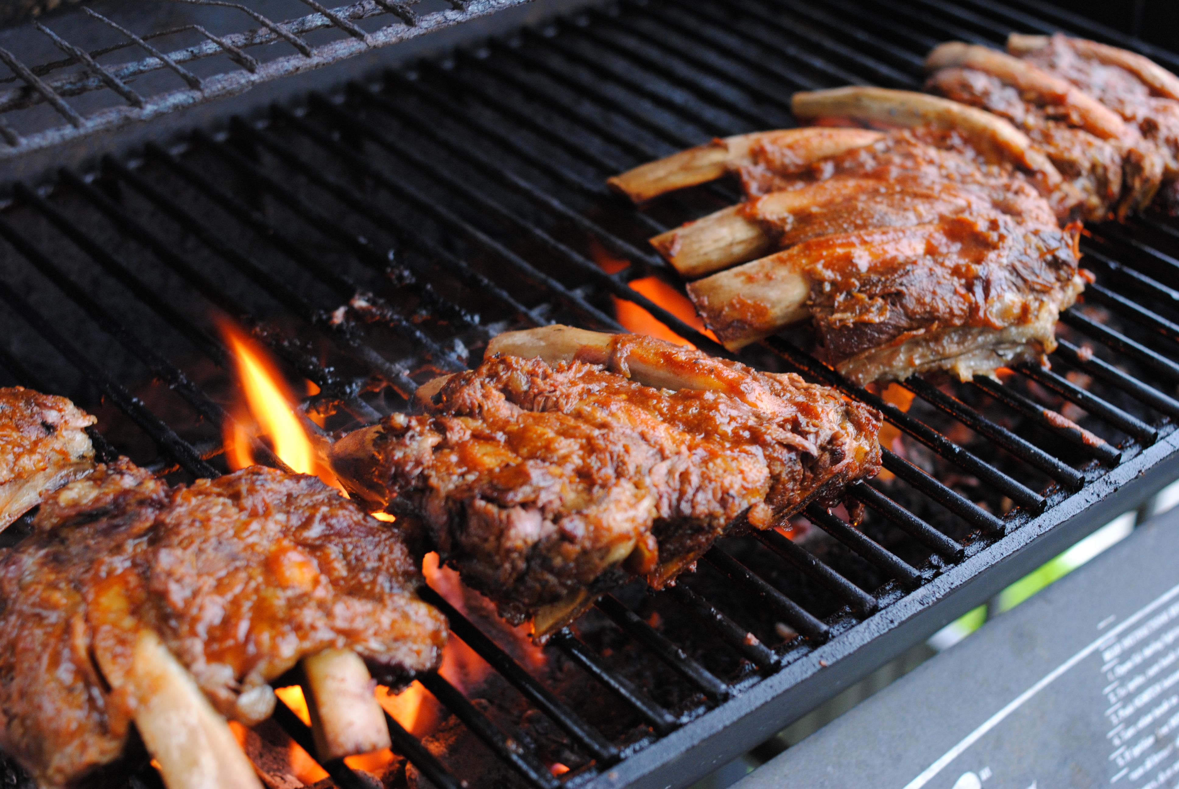 barbecue enceinte