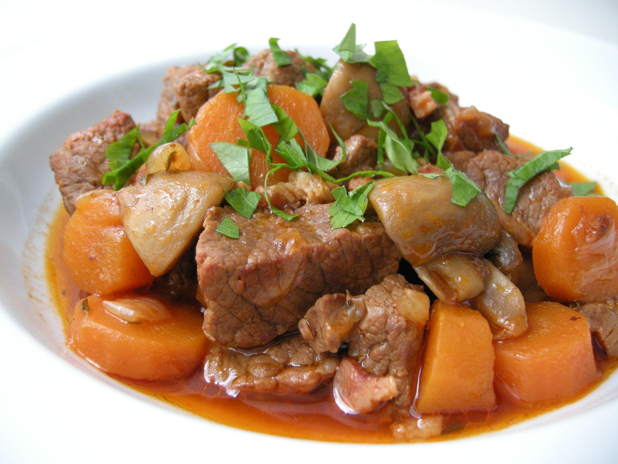 boeuf-carottes enceinte