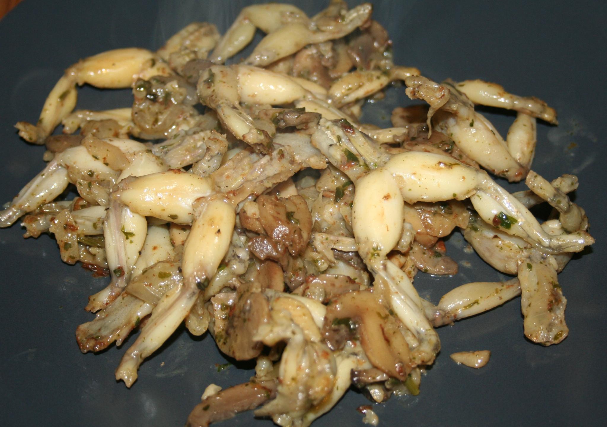 cuisse-de-grenouille enceinte