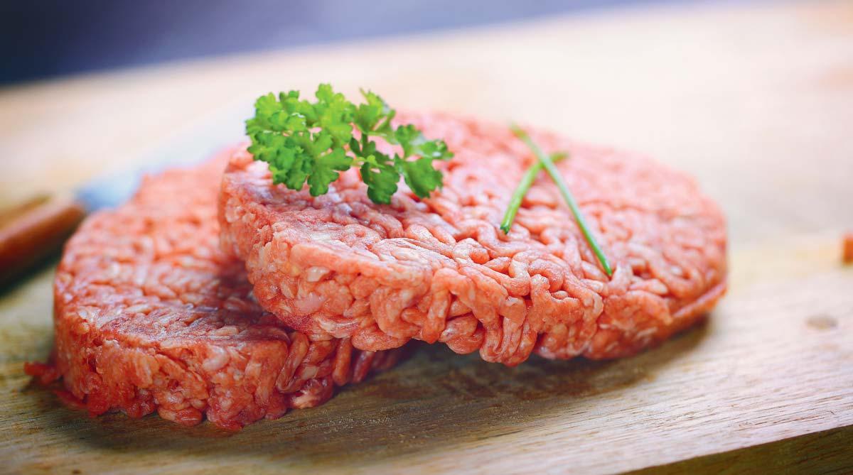 steak-hache enceinte